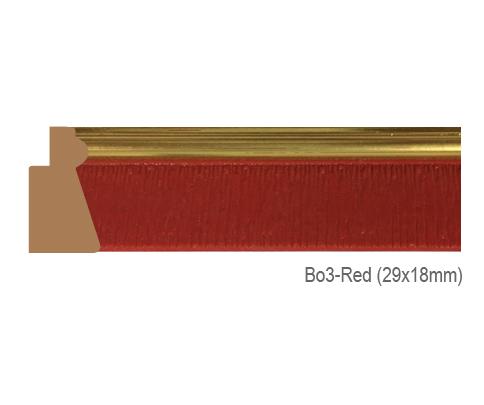 Thanh khung, phào (nẹp) làm khung tranh, khung hình mã BO3RED
