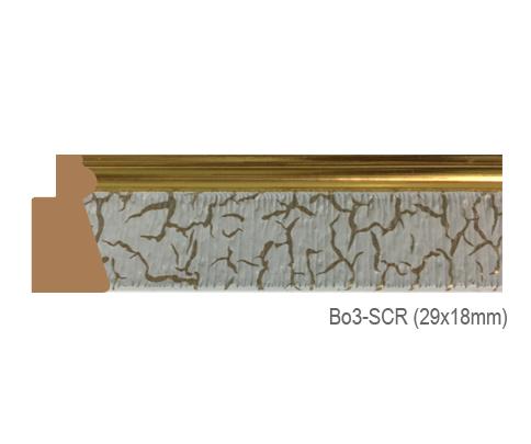 Thanh khung, phào (nẹp) làm khung tranh, khung hình mã BO3SCR