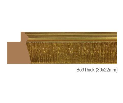 Thanh khung, phào (nẹp) làm khung tranh, khung hình mã BO3THICK