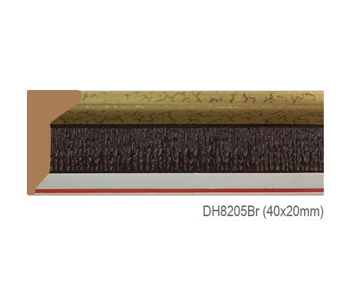 Thanh khung, phào (nẹp) làm khung tranh, khung hình mã DH8205BR
