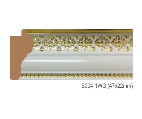 Thanh khung, phào (nẹp) làm khung tranh, khung hình mã S004-1WG